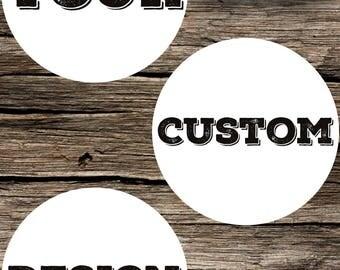 Mikey - Custom Design Order Request Graphic Design DIY Printable Digital Download