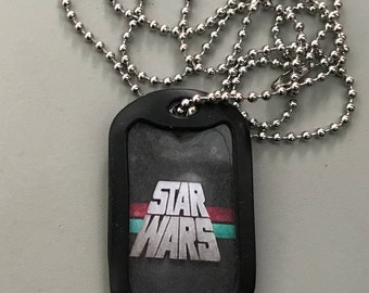Star Wars Dog Tag Necklace, 10 choices in the pictures
