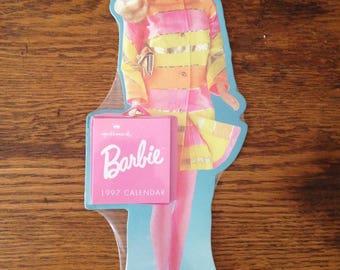 Vintage Barbie 1997 calendar