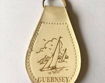 Guernsey keyring