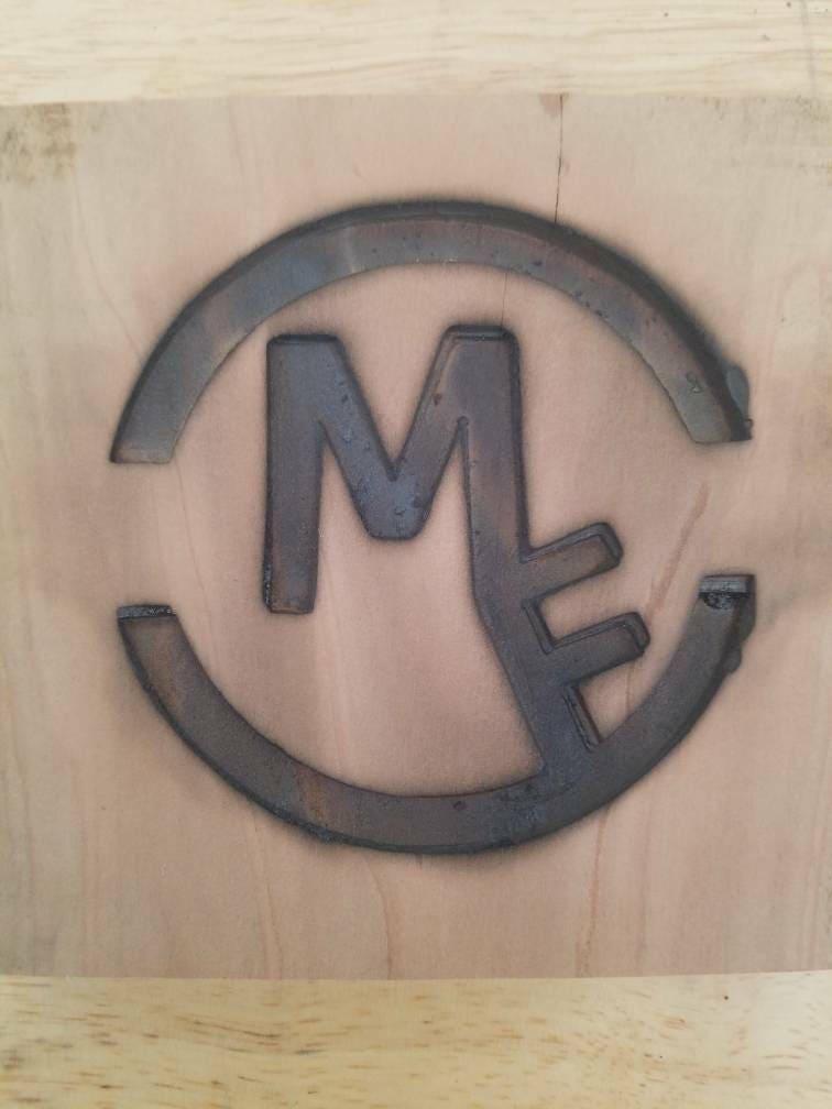 Custom Wood Branding Iron Leather Branding Iron Old West