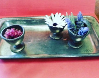 Vintage Willow Cake Tin / Slice Tray / Made in Australia