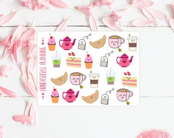 Tea Party Mini Sticker Sheet