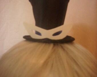 Tuxedo mask mini top hat