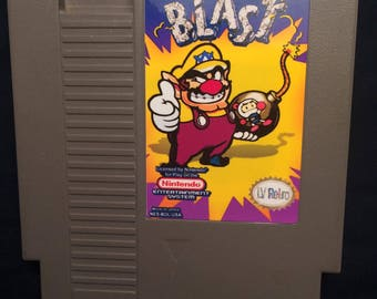 Wario Blast NES Game