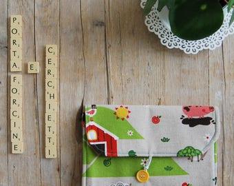 Door hairpins and Baby rings   Reason Farm Animals   Girl Gift Idea   Birthday Gift Idea