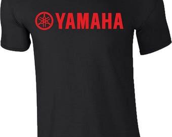 Yamaha Motorcycle T Shirt Logo Racing Motorbike Biker Moto GP VR46 Mens Gift Tee Top