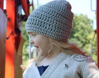 Crochet Pattern for Portland Stella Slouchy Crochet mommy and me pattern beanie