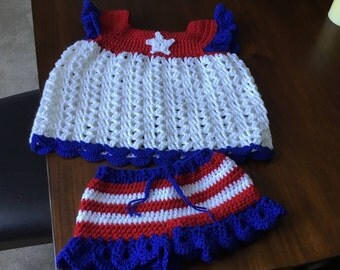 Girls toddler dress and diaper cover