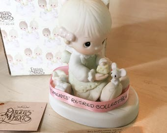 Vintage Precious Moments Love Is Kind Figurine E-5377