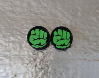 Marvel's Hulk Fist Stud Earrings