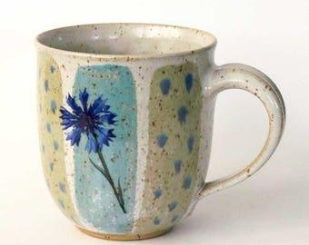 Jumbo mug - cornflower