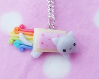 Little Nyan Cat Necklace