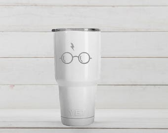 Yeti Tumblers Engraved With Glass Personalized Yeti Tumblers 20 oz Glass Yeti Gift For Men Glass Yeti Rambler 30 oz Gift