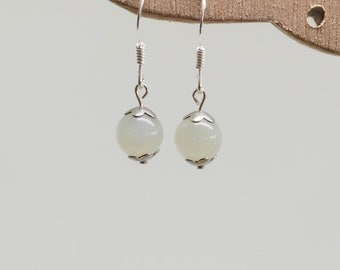 Moonstone earrings