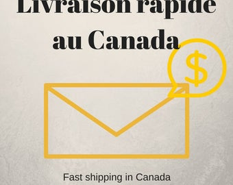 Fast delivery in 2 days business (priority mail) for canada