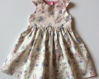 Girls tea party dress - size 1