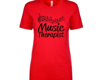 Music Therapy Ladies Tee