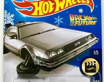 Hot Wheels Back To The Future Time Machine - Hover Mode - HW Screen Time #221/250 - RARE - Free Shipping
