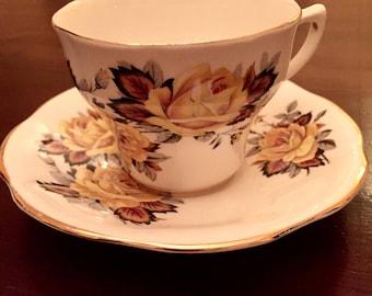 Vintage Rosina Teacup and Saucer