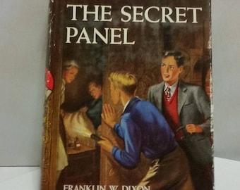 "Hardy Boys ""The Secret Panel""  1946 hardcover book"