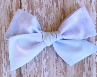 OVERSIZED Purple Marble Bow