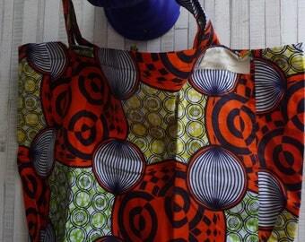 Coconut wax worn may cotton tote bag
