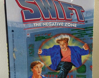Tom Swift by Victor Appleton The Negative Zone Book 2 Youth Novel (bb2)