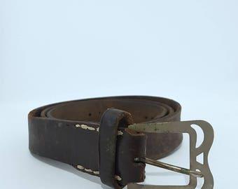 Men's Leather Belt - Leather Belt - Mens Belt - Mens Belt Leather - Custom Belt - Gift for Him - Brown Belt