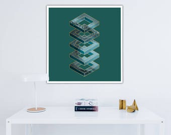 Nordic Home Decor - Scandinavian Style - Home Decor - Nordic Art Poster - Scandinavian Poster - Nordic Decor - Scandinavian Decor - Nordic