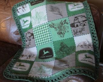 John Deere Baby, Toddler Blanket