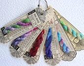 Cottage Garden Threads, Embroidery Thread, hand-dyed