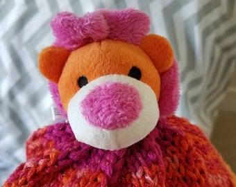 Lion hat, child's size 4 - 10