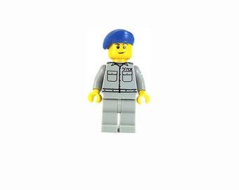 Male IDF Mini-Figure Police - Israeli Defense Force - Jewish Custom Lego® Set from JBrick
