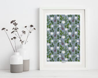 """Bouquet"" A4 poster"