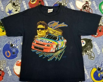 Vintage 90s Jeff Gordon Nascar 24 T shirt racing Size XL