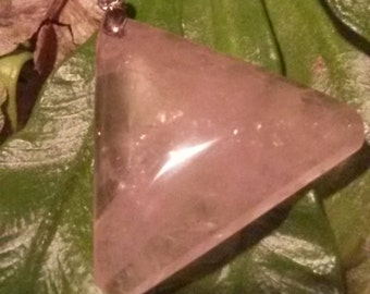 ROSE QUARTZ 5 to choose from-pendants