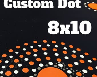 Custom 8x10 Dots