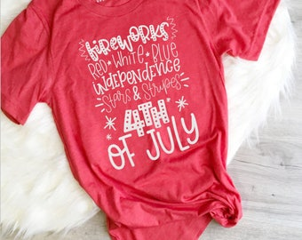 Fourth of July Shirt, 4th of July, Freedom Shirt, 4th of July List, Independence Day, Red White and Blue, America Yall, Merica, Mom Shirt