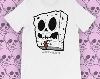 Spongebob Skull - T-shirt