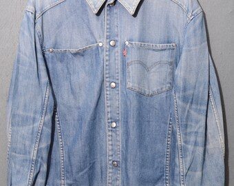 LEVIS-Engineered Jeans jacket TG L (E24)