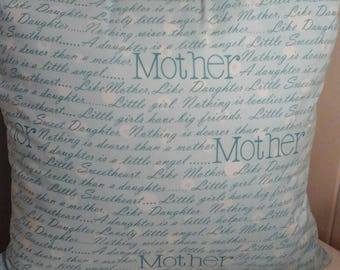 Mother Pillow with words