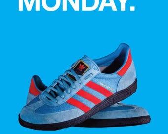 New Order Blue Monday aternative poster