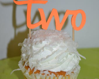 Two Cupcake Topper
