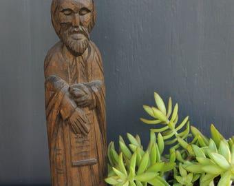Carved Wood Saint Philip