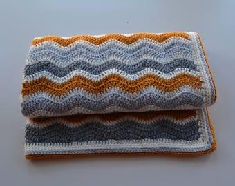 Crochet baby blanket,cot blanket,newborn gift,baby bedding