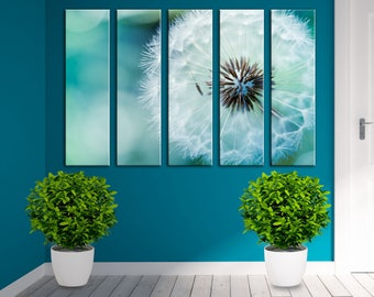 Dandelion Wall Art Canvas Print Wall Decor Canvas Wall Art Large Canvas Art  Set Home Decor