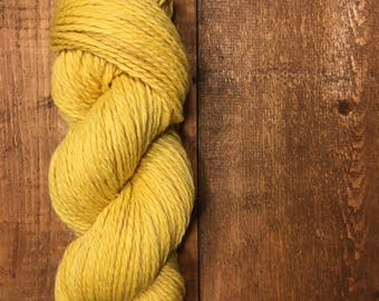 BULKY 2 PLY highland wool BUTTERCUP