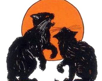 Black Cat Oil | Roll-On Perfume Oil | Bay leaves, sage, opoponax, honey, clover, cinnamon, florals, musk, and patchouli
