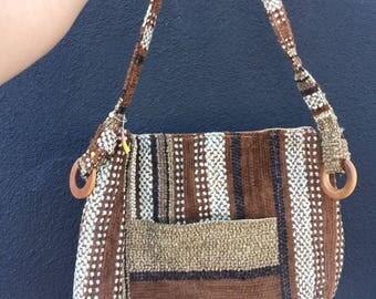 Vintage brown shoulder bag